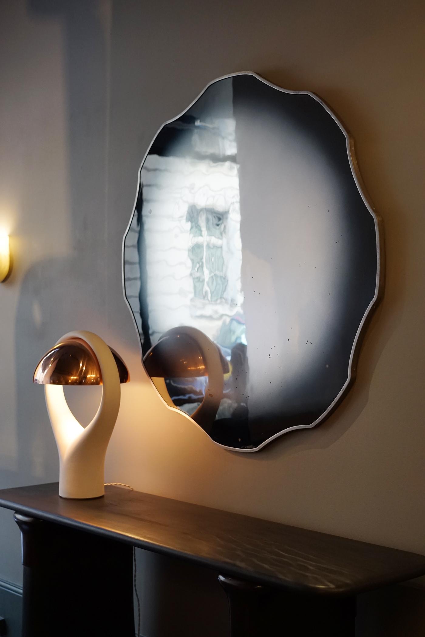miroir Acamas -  - Galerie Carole Decombe
