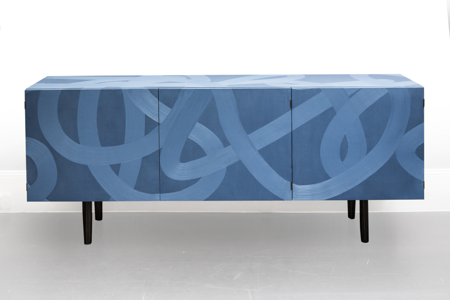 Blue Sideboard - Galerie Carole Decombe